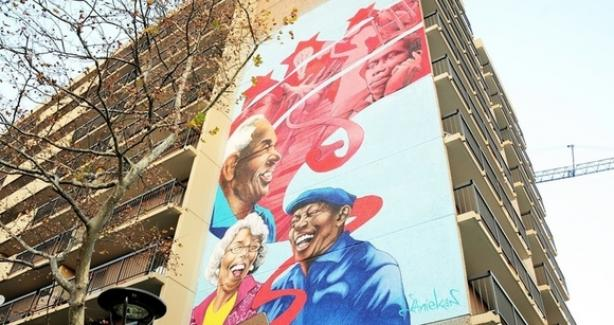 Age-Friendly DC mural