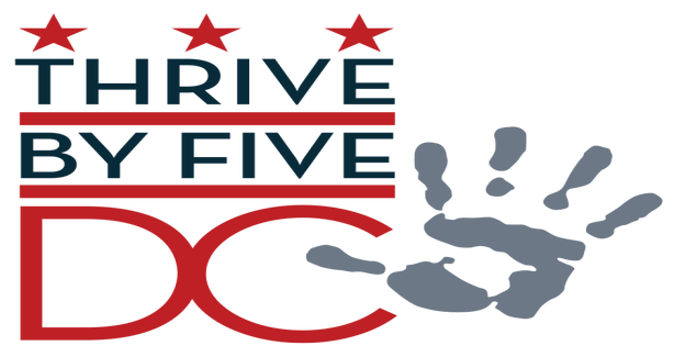 Thrive by Five logo